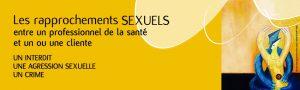 Rapprochements sexuels entre professionnels de la santé et clients